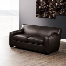 Grace Leather Loveseat