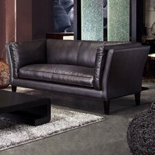 Estate Leather Loveseat
