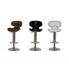 <strong>Diamond Sofa</strong> Contemporary Adjustable Height Barstool