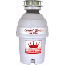 Legend 1 HP Garbage Disposal with Continuous Feed