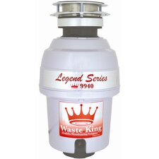Legend 3/4 HP Garbage Disposal with Continuous Feed