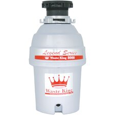 Legend Series 1.0 HP EZ-Mount Garbage Disposer (12.5 lbs)