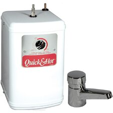 "Quick and Hot Water Dispenser with Chrome Tahoe Series Single ""Open Vent"" Faucet"