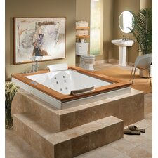 Optional Wood Frame for Fuzion 7260 Undermount Salon® Spa
