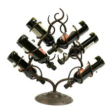 Andranik 6 Bottle Tabletop Wine Rack