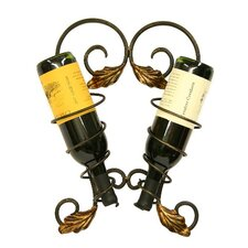 <strong>Creative Creations</strong> Fuzio 2 Bottle Wall Mounted Wine Rack