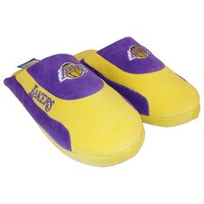 NBA Los Angeles Lakers Low Pro Stripe Slippers