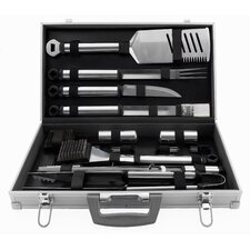 21 Piece Tool Grilling Set