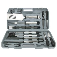 18 Piece Tool Grilling Set with Case