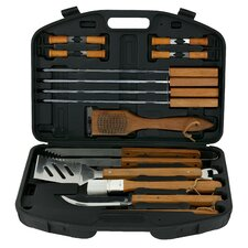 Wood Handle Tool Set (Set of 18)