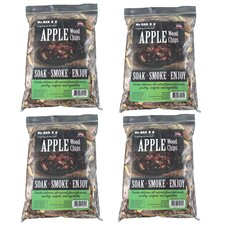 Apple Wood Chips (Set of 4)