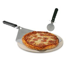 3 Piece Grill Stone Pizza Set