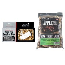 Apple Wood Chips with Smoker Box