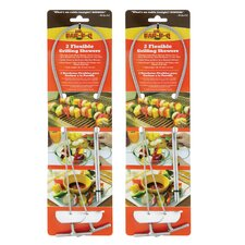 Flexible Grilling Skewers (Set of 4)