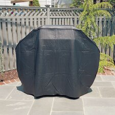 <strong>Mr. Bar-B-Q</strong> Silver Prestige Gas Grill Cover