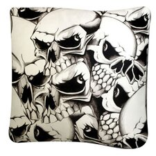 Rectangle Skulls Dog Pillow