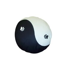 Round Yin Yang Dog Pillow