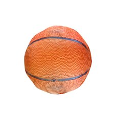 Round Basketball Dog Pillow
