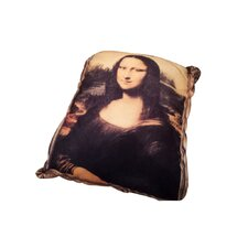 Rectangle Classic Art Dog Pillow