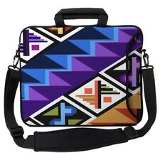 Executive Sleeves Tropical Textile PC Laptop Bag