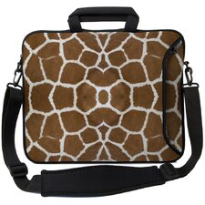 <strong>Designer Sleeves</strong> Executive Sleeves Giraffe PC Laptop Bag