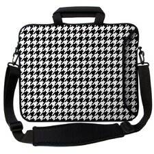Executive Sleeves Houndstooth PC Laptop Bag