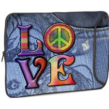 Love(Peace) Designer MacBook Sleeve