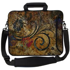 Executive Sleeves Vintage Fleur PC Laptop Bag
