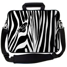 <strong>Designer Sleeves</strong> Executive Sleeves Zebra Eye PC Laptop Bag