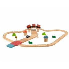 City 42 Piece Road and Rail Play Set