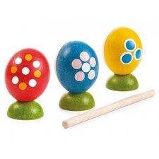 Preschool 4 Piece Egg Percussion Music Set