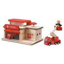 <strong>Plan Toys</strong> City Fire Station
