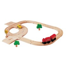 <strong>Plan Toys</strong> City Road and Rail - Standard