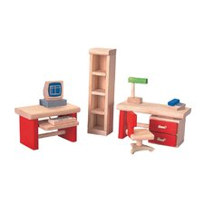 <strong>Plan Toys</strong> Dollhouse Home Office-Neo