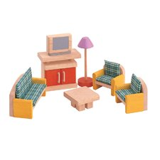 <strong>Plan Toys</strong> Dollhouse Living Room-Neo