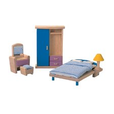 <strong>Plan Toys</strong> Dollhouse Bedroom-Neo