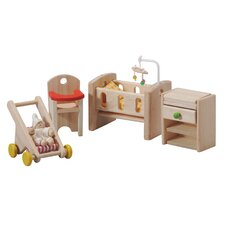 <strong>Plan Toys</strong> Dollhouse Nursery