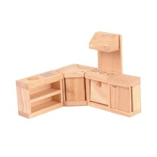 <strong>Plan Toys</strong> Classic Dollhouse Kitchen