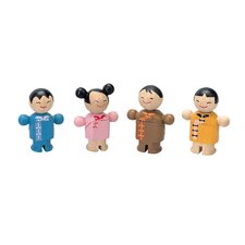 <strong>Plan Toys</strong> City Family Asian Dolls