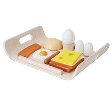 Large Scale 11 Piece Breakfast Menu Play Set