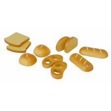 Large Scale 10 Piece Bread Play Set