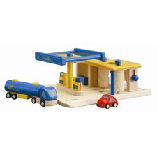 City Gas Station Play Set