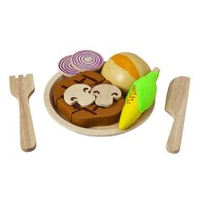 <strong>Plan Toys</strong> Steak Set