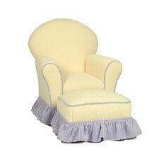 Kid's Royal Club Chair and Ottoman