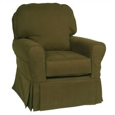 Buckingham Glider with Down Filling and Slipcover