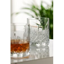 Galway Longford 10oz.Stemware Glass in Crystal (Set of 2)