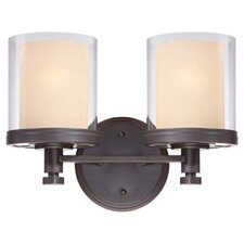 Decker 2 Light Bath Vanity Light