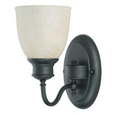 <strong>Nuvo Lighting</strong> Bella  1 Light Wall Sconce