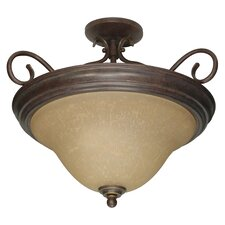 <strong>Nuvo Lighting</strong> Castillo Semi Flush Mount