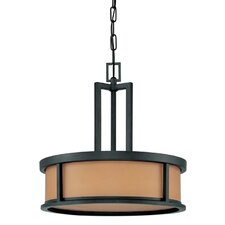 <strong>Nuvo Lighting</strong> Odeon 4 Light Drum Pendant